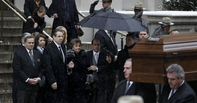 Gov. Cuomo eulogizes dad Mario as a crusader, poet, friend