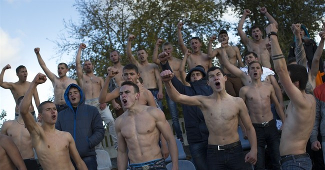 Crimean soccer fans loyal to their teams despite tensions