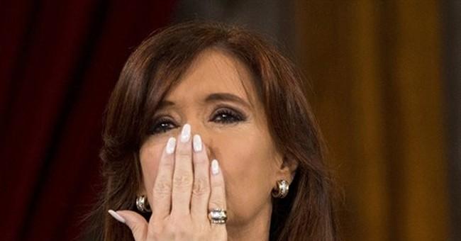 Argentine president: late prosecutor had also praised her