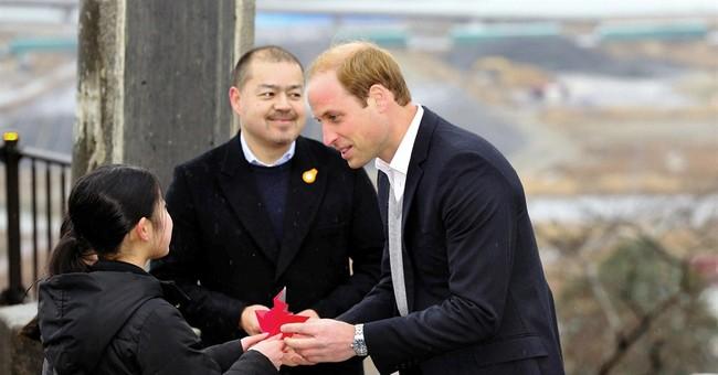 Prince William gets close look at tsunami disaster in Japan