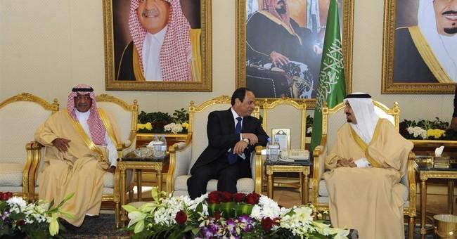 Egypt's president in Saudi Arabia for talks with new king