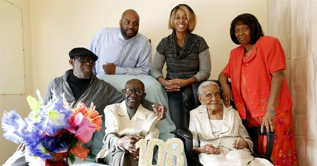Joint birthday party for NY couple married 82 years