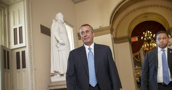 Boehner leaves open possible vote on Dem-backed DHS bill