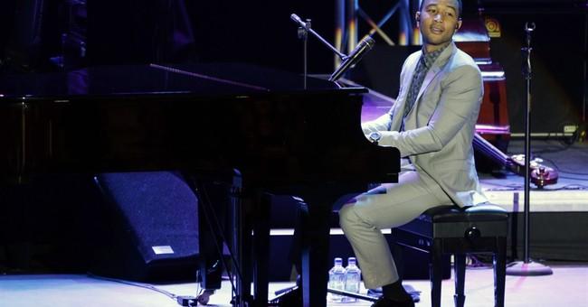 Singer John Legend talks about justice at Bahrain concert