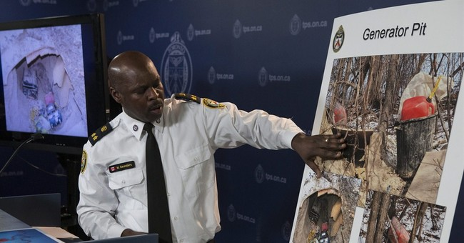 Toronto Police: men built mystery tunnel to use as man cave