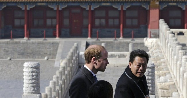 Prince William focuses on football and film on China trip
