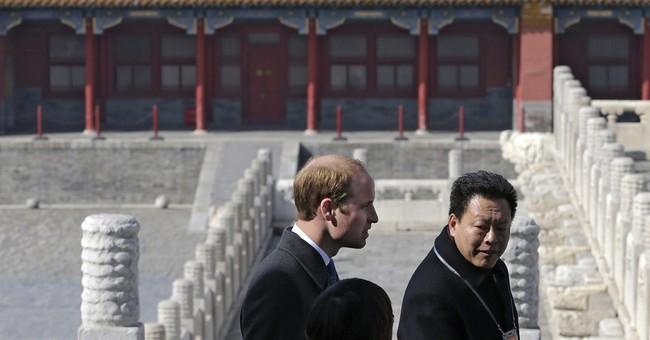 Prince William focuses on football and film on China trip