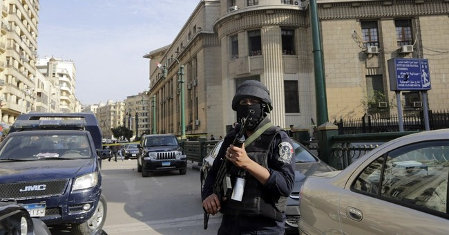 Bomb blast in downtown Cairo wounds 9 people