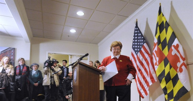 Veteran Democratic Sen. Mikulski won't seek re-election