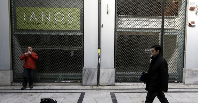 Spain reveals 3rd Greek bailout, then says it's hypothetical
