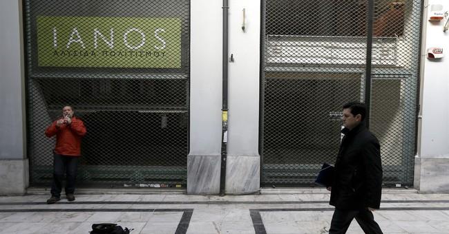 Spain reveals 3rd Greek bailout, then says it's hypothetical
