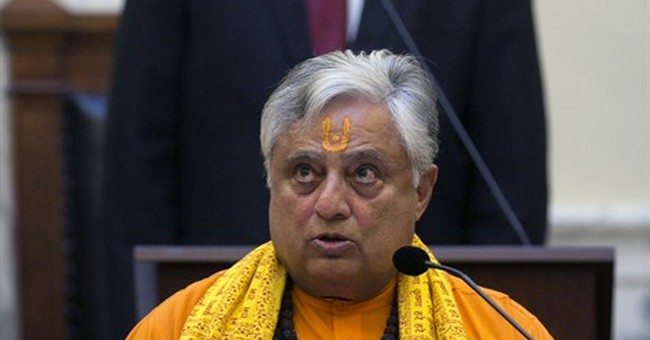 Idaho Senate opens with Hindu prayer, 3 lawmakers protest