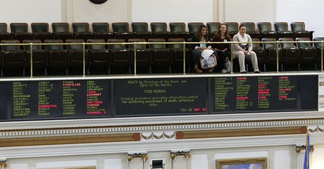 Nitrogen gas executions approved by Oklahoma House