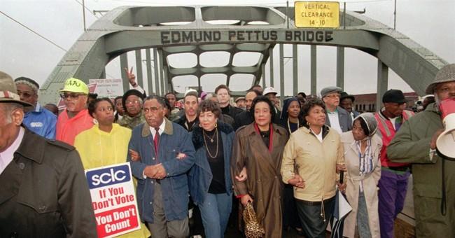 Civil rights landmark bridge is named for reputed KKK leader