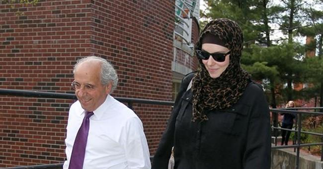 Lawyer: Tsarnaev widow not ID'd as witness in bombing trial