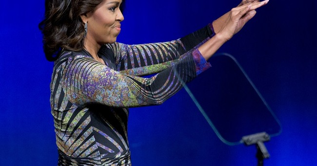 Michelle Obama promotes awareness of mental health care