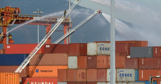 Chemical fire at Vancouver's port prompts evacuation