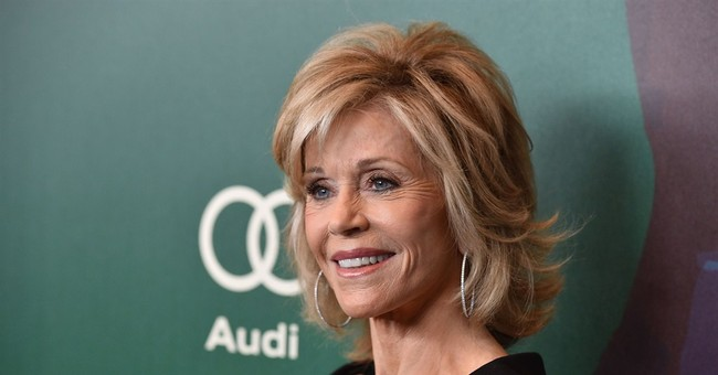 Jane Fonda says male domination of world has been 'wounded'