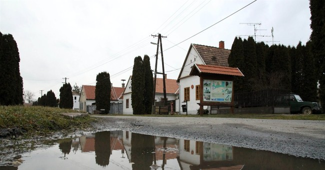 Rooms going fast at Hungary's village for rent