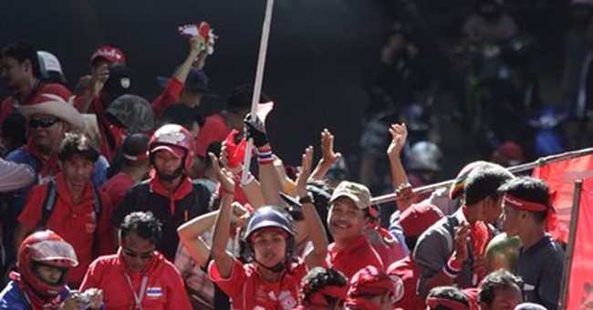 Thai court sentences 'Red Shirts' to jail for 2009 rioting