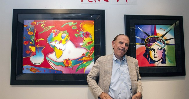 Peter Max still living the colorful, pop-art vibe he created