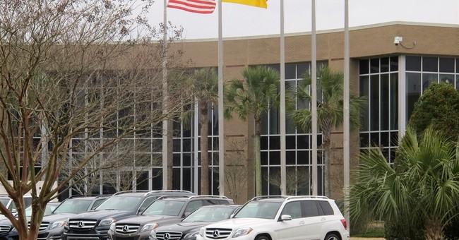Daimler to build South Carolina plant, creating 1,300 jobs