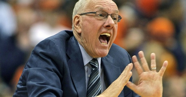 Boeheim coaches final game of the season after NCAA ruling