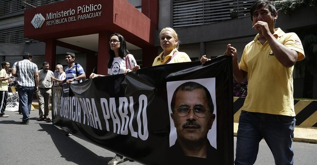 Paraguayan journalist shot to death along Brazil border