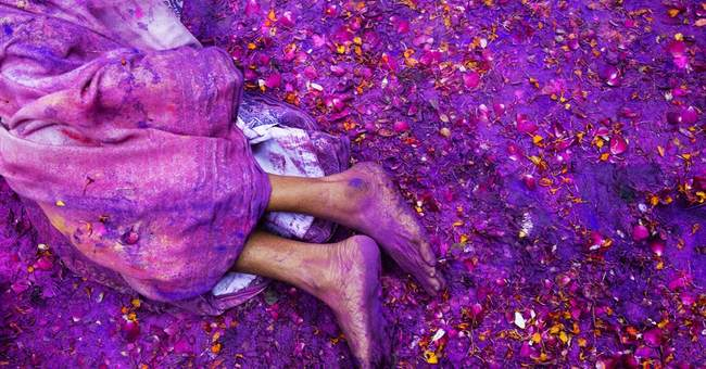 AP PHOTOS: India celebrates spring with festival of colors