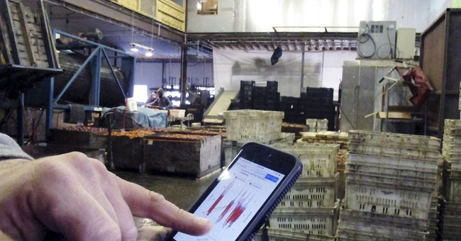 Vermont farms monitor storage conditions by cellphone