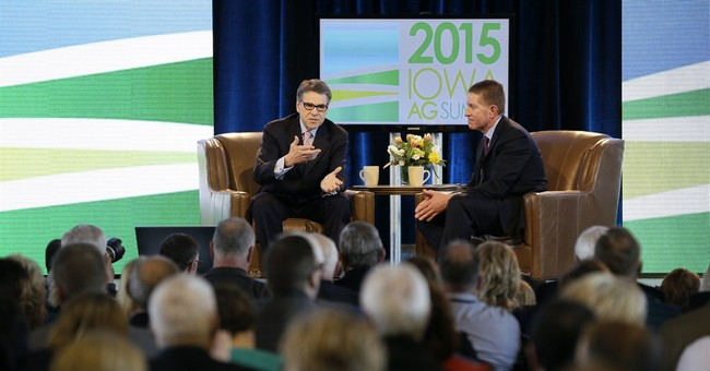 Texas' Perry says states should handle energy subsidies