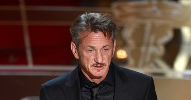 "Sean Penn has ""no apologies"" for his green card joke"