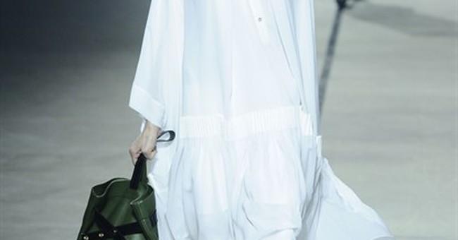 Kenzo says layering is in at Paris Fashion Week