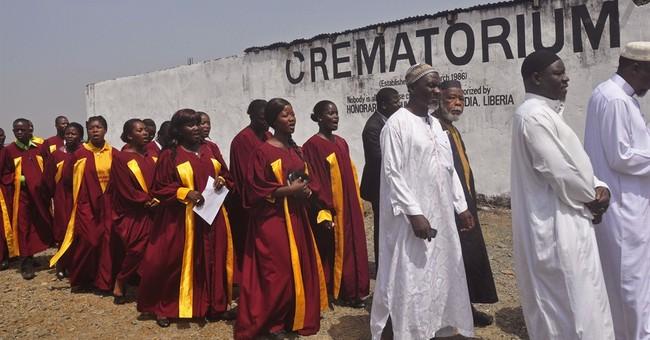 Liberia removes Ebola crematorium as outbreak is contained