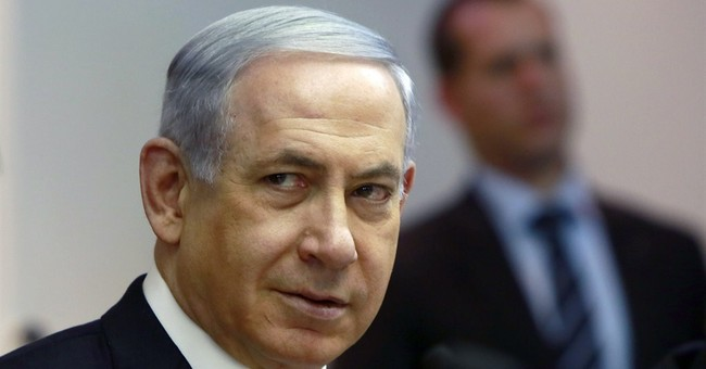 Netanyahu says Israel will not cede land to Palestinians