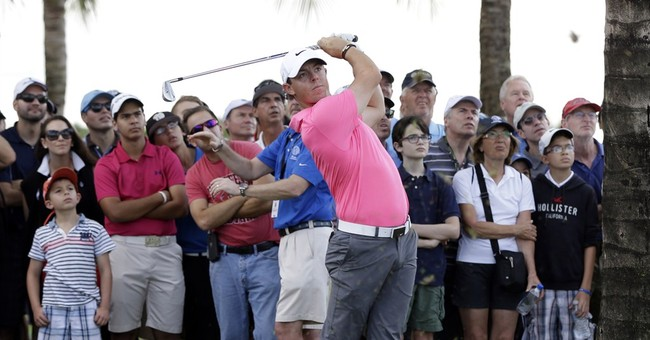 Trump gives McIlroy the drowned 3-iron