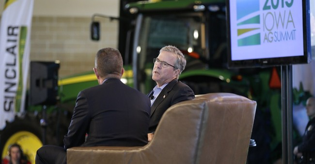 Jeb Bush jumps into retail politics of Iowa's caucuses