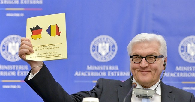Romania fires official for flag gift gaffe with Germany