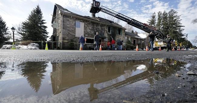 Fire destroys New Jersey's historic Sergeantsville Inn
