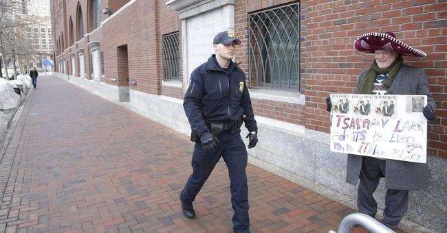 Woman now in wheelchair testifies at Boston bombing trial