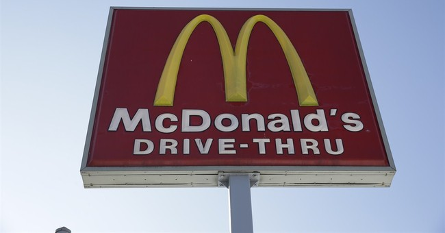 Lovin' goes only so far as McDonald's sales slide again