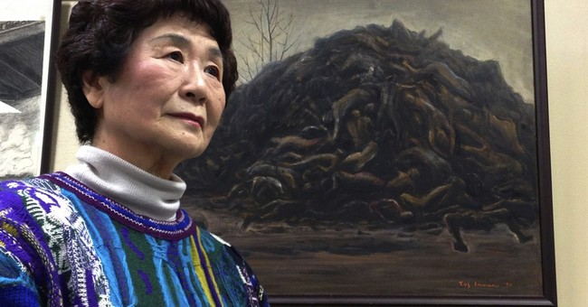 WWII memory: Girl survived Tokyo bombs as others died above