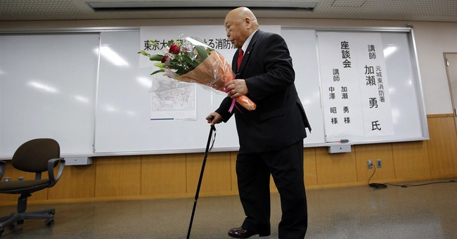 WWII memory: Tokyo fireman regrets lives he couldn't save