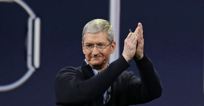 """Apple's Tim Cook cites record sales and """"unbelievable"""" year"""