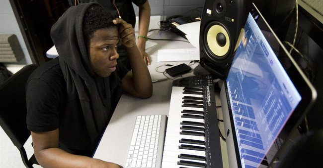Students begin using recording studio donated by Drake