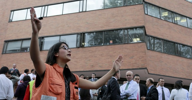 6.2 quake shakes Colombia; no initial reports of damage