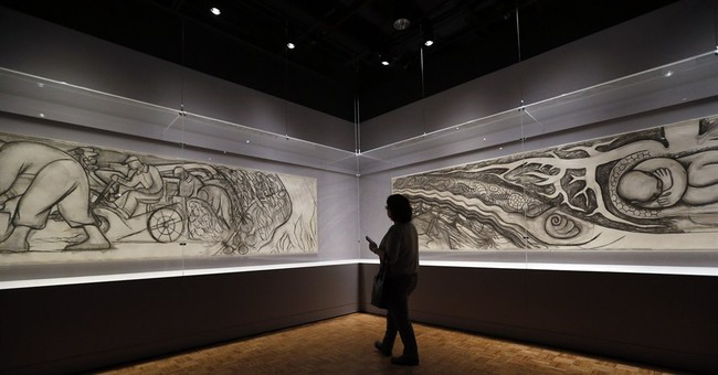 Detroit exhibit explores art, interplay of Kahlo, Rivera