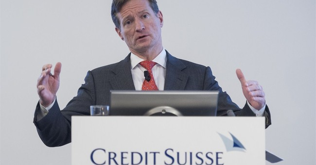 Credit Suisse shares surge as bank switches CEOs