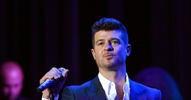 Trial provided inside view of making of 'Blurred Lines'