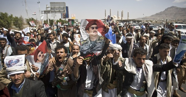 Yemen protesters demand return of former autocrat's son